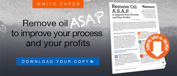 Remove Oil ASAP to Improve your Process and your Profits