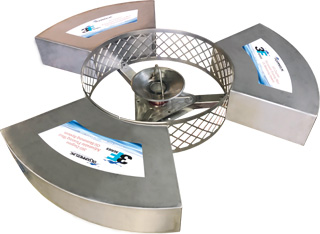 3F Series 360-Degree Floating Weir Skimmer