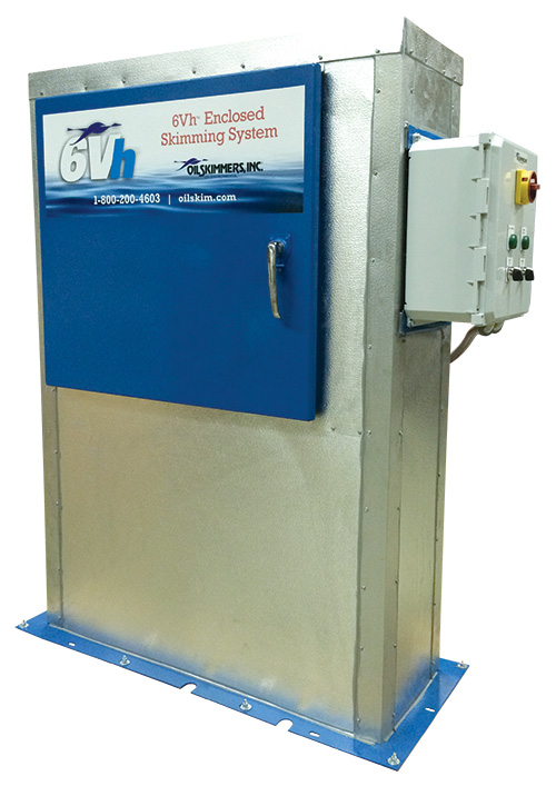 6Vh Enclosed Skimming System - Heated and Insulated