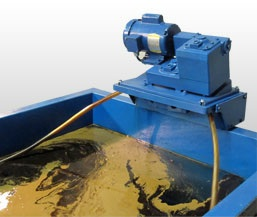 oil skimmers, wastewater treatment, oilfield services, model 5H oil removal