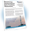 Recovering Hydrocarbons from Fracking Wastewater